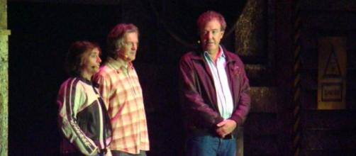 James May, Richard Hammond e Jeremy Clarkson.