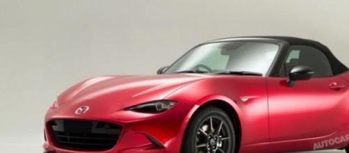 La nuova Mazda MX-5, in vendita a Settembre.