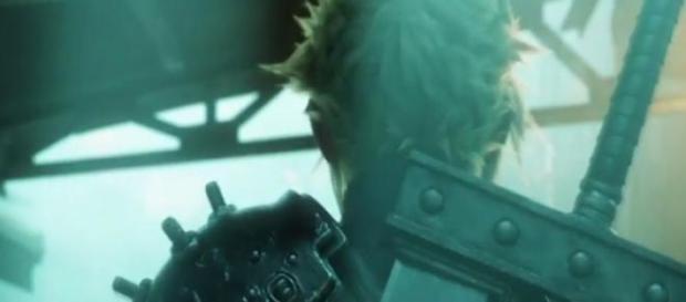 Cloud en el nuevo  Final Fantasy VII