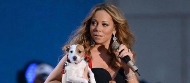 Mariah Carey: bichinhos para brincar