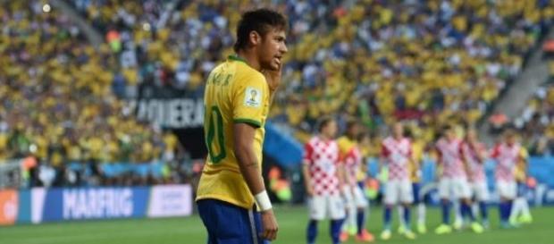 Neymar é o grande ausente do jogo de hoje