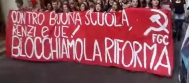Scuola, calendario manifestazioni contro DDL Renzi