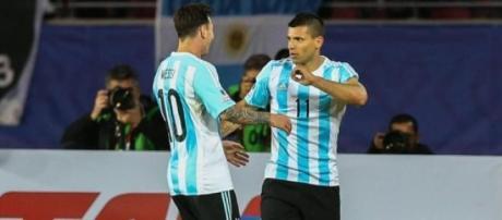 Messi y Agüero, los mejores argentinos