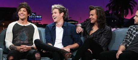One Direction at 'Late Late Show'