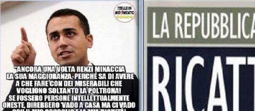 Il M5S addita Renzi come un ricattatore