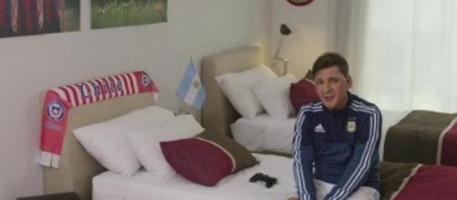 Martín Bossi demuestra un enorme parecido a Messi