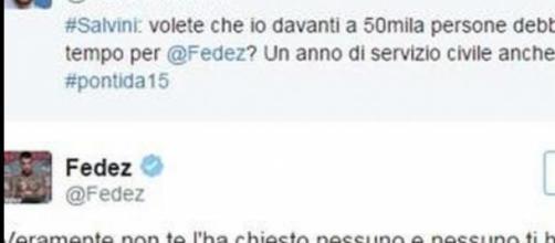 Salvini litiga con i cantanti: da Fedez a  Pelù.