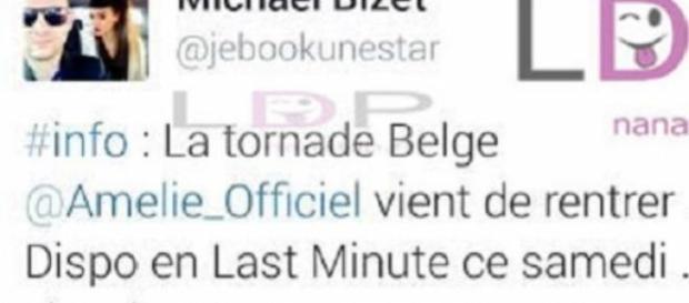 Amélie Neten sur le départ?!?
