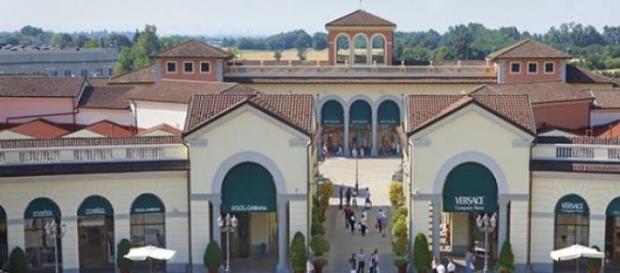 Il centro commerciale di Serravalle