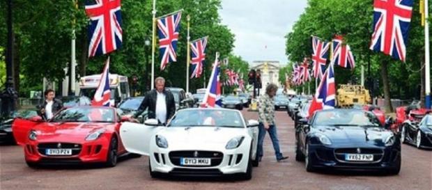 'Top Gears' presenters celebrate last episode