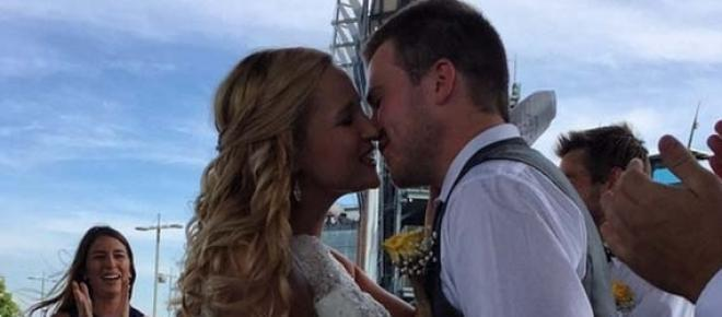 Couple married at Taylor Swift concert