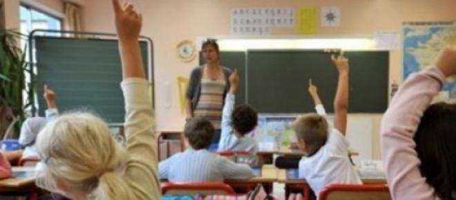Des élèves à l'école primaire
