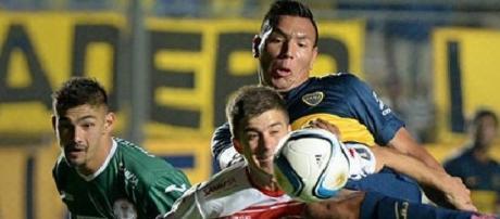 Boca Juniors venció por 2 a 0 a Huracán Las Heras