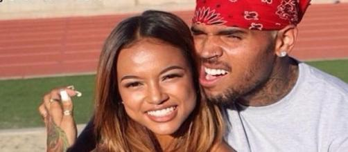 Chris Brown et Karrueche Tran.