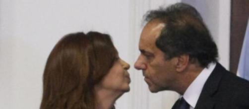Cristina Kirchner y Daniel Scioli