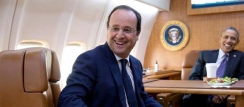 François Hollande et Barack Obama.