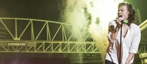 Harry Styles num dos concertos.