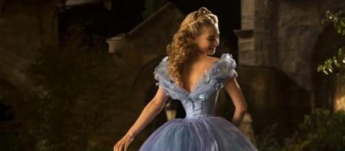 Lily James - as Cinderella