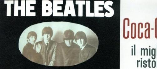 Manifesto del concerto dei Beatles a Milano