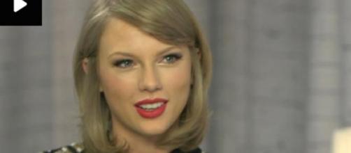 Taylor Swift em entrevista à ITV