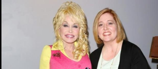 Dolly Parton and Dyane Smokorowski.