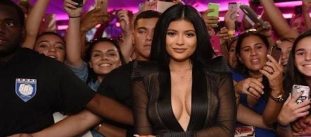 Kylie Jenner à l'inauguration de Sugar Factory.
