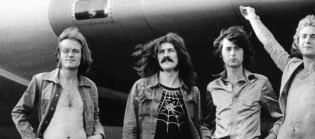 Led Zeppelin en 1973, en pleno auge de la banda