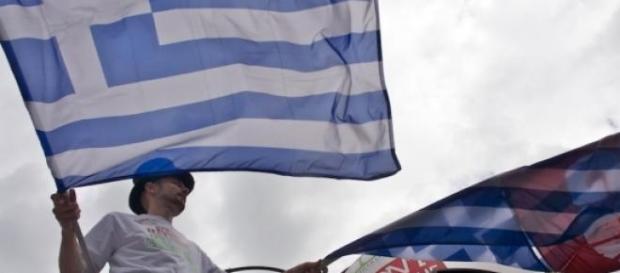 Les Grecs sont dans la rue.