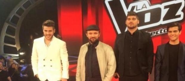 Los finalistas de 'La Voz'
