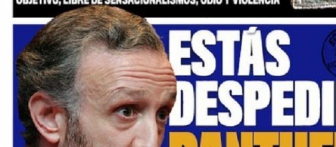 """Parodias de los cartelitos y la gestión como director del """"Marca"""" de Eduardo Inda, su marca de fábrica."""