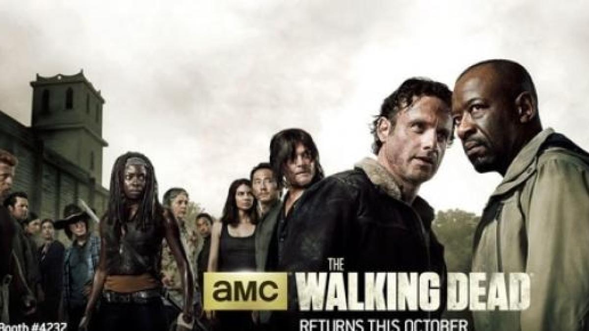 AMC revealed a new poster for 'Walking Dead' season 6