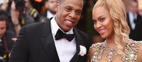 Jay Z et Beyoncé au MET Gala à New York.