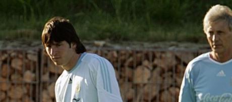 Messi enfrentará a Pekerman nuevamente