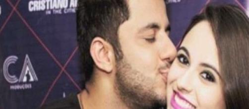 Cristiano Araújo e a namorada morreram.