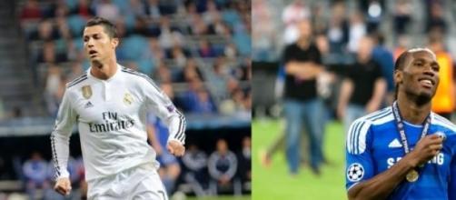 Cristiano Ronaldo, Drogba et Simeone