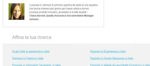 Le offerte dell Johnson&Johnson