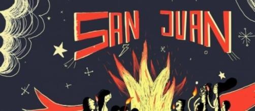 Los fuegos de San Juan en Güemes