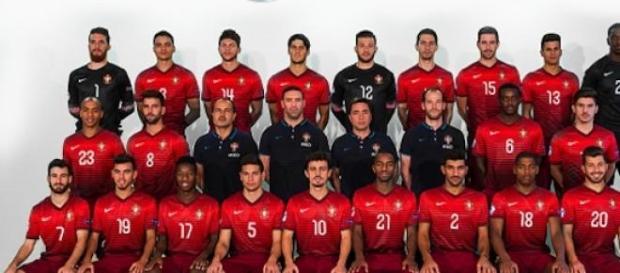 A Seleção Portuguesa de Sub-21 (Foto: FPF)