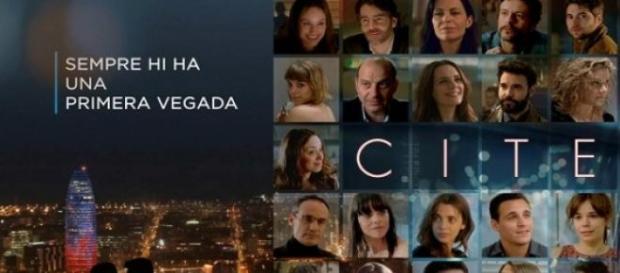 Cartel de la serie 'Cites' de TV3 y su eslogan
