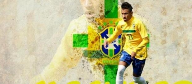 Neymar quitte l'équipe du Brésil.