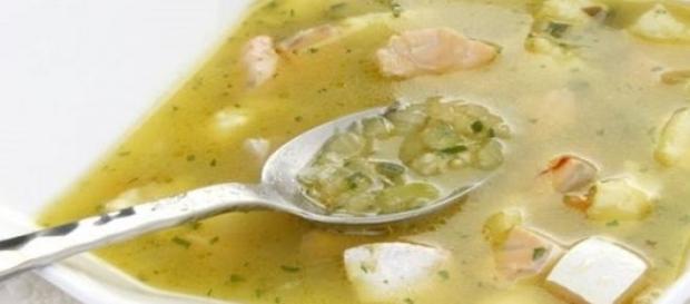 Sopa de arroz para enfrentar bajas temperaturas