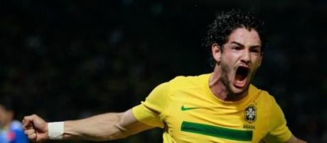 Alexandre Pato, attaccante del Corinthians