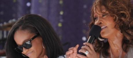 Bobbi Kristina Brown Onstage With Whitney Houston