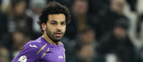 Mohammed Salah, attaccante della Fiorentina