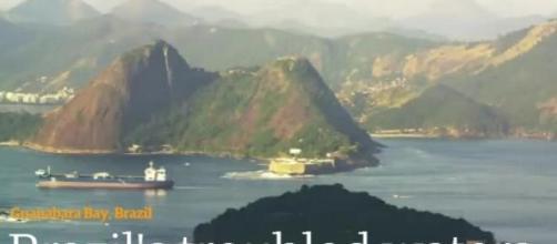 Brazil's troubled waters/Reprodução - The Guardian