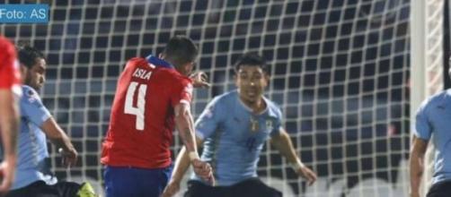 Chile le ganó uno por cero a Uruguay