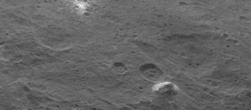Pirámide en la superficie de Ceres