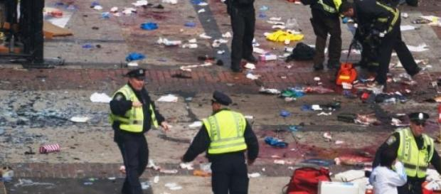 Attentats de Boston, le 15 avril 2013.