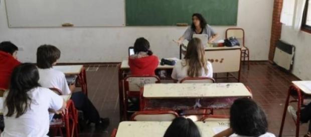 Imagen a modo ilustrativo del aula