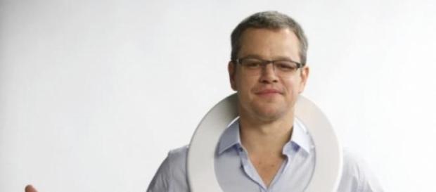Matt Damon en campaña de uso responsable de agua